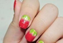 草莓美甲教程-三思生活网