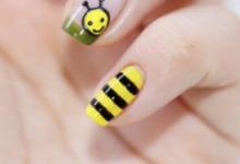 蜜蜂美甲教程-三思生活网