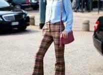 喇叭裤搭配什么外套 搭配图片欣赏-三思生活网