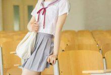 白衬衣搭配裙子图片女 配裙配裤都优雅-三思生活网