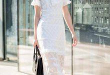 白色连衣裙在夏天非常受欢迎,清爽凉快赋予女生非常清新的气质-三思生活网