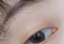 橘色淡妆眼影的画法步骤图-三思生活网