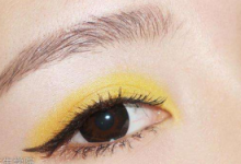 暖黄色眼妆画法 只需要简单的8步走-三思生活网