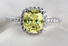 蒂芙尼黄钻戒指价格 3克拉的多少钱-三思生活网