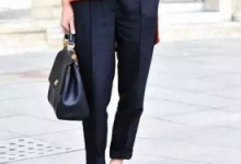烟管裤是什么样子的 和铅笔裤的区别-三思生活网
