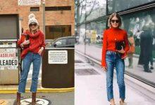 红色毛衣怎么搭配好看又时尚?-三思生活网